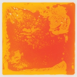 Orange liquid tile