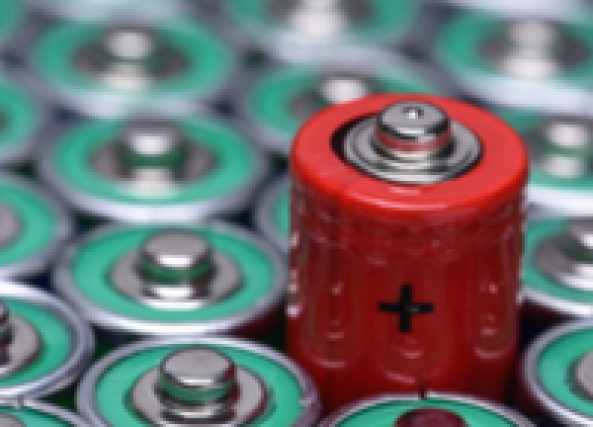 Battery thumb
