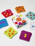 Tiny polka dot math literacy game
