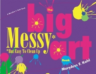 The big messy art book-cover