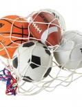 Sports ball and bag set