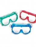 Color safety goggles