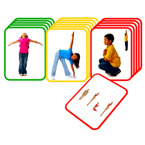 Modular Classroom Yoga ~ Unconventional fitness activities for kids extended notes