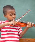 Crianca-violino