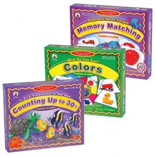 Basic skills learning game set