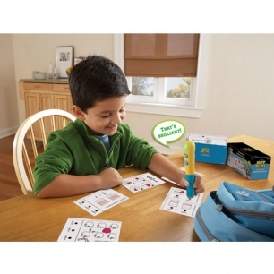 Math quiz card set