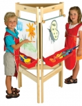 Three way easel