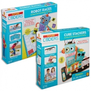 Robot race cube stacker