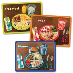 Healthy meal puzzle
